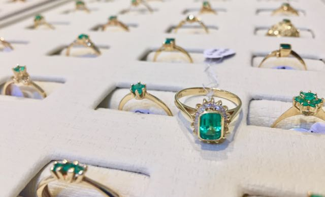 Hunting for emeralds in Bogota, Colombia