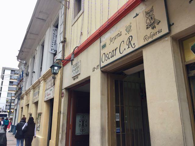 emerald jewelry shops in bogota